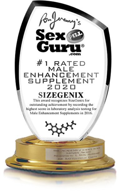 SizeGenix - Sex Pill Gurur Award